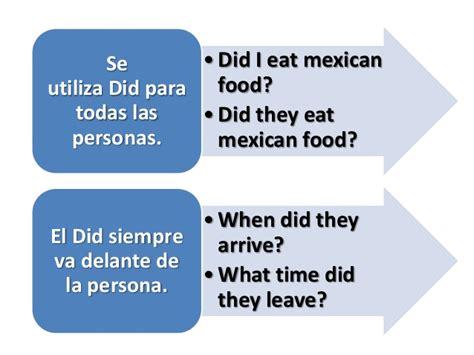 preguntas en pasado simple sin auxiliar pasado simple ingles en preguntas