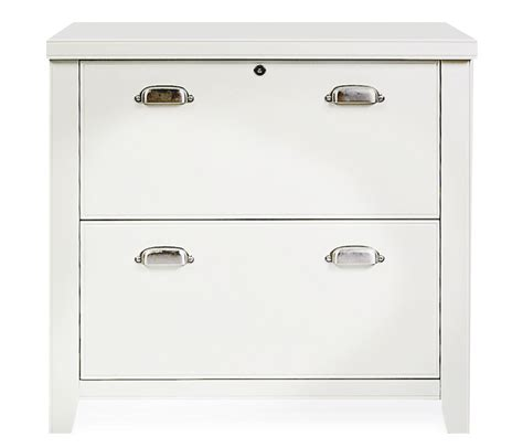 White lateral filing cabinets   Lateral file cabinet