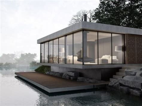 glass and concrete house glasses lakes and inspiration on pinterest
