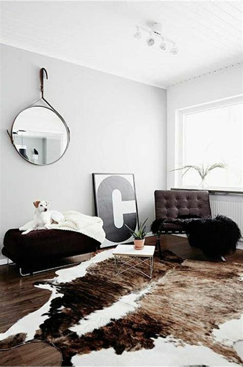 tapis décoratif pour salon 3871 on vous pr 233 sente le salon en cuir une tendance moderne