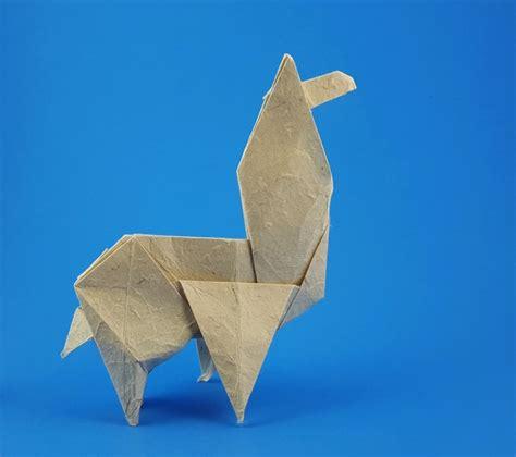 Origami Llama - origami llamas gilad s origami page