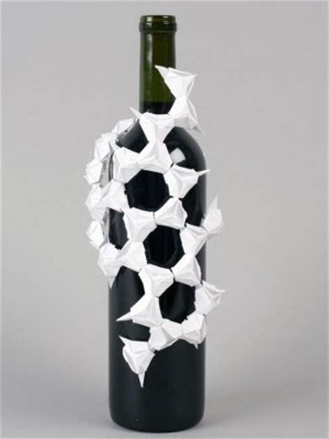Origami Wine Bottle - jenn origami