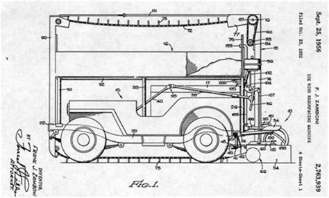 coloring pages zamboni how to draw zamboni