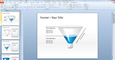 Free Editable Funnel Diagram For Powerpoint Free Powerpoint Funnel Template