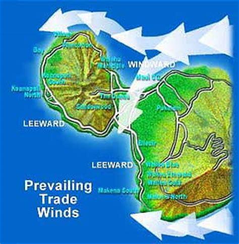 hawaii wind pattern maui now maui s wind vs surf situation explained