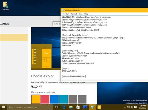 Change Windows 10 window color and appearance