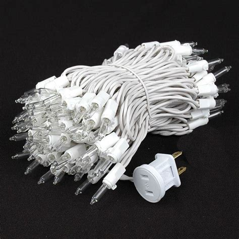 random twinkle led lights random twinkle mini lights white wire clear bulbs