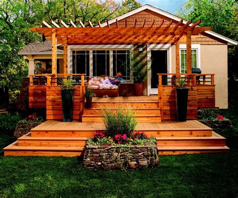Backyard Deck Ideas High Definition 89y 1442