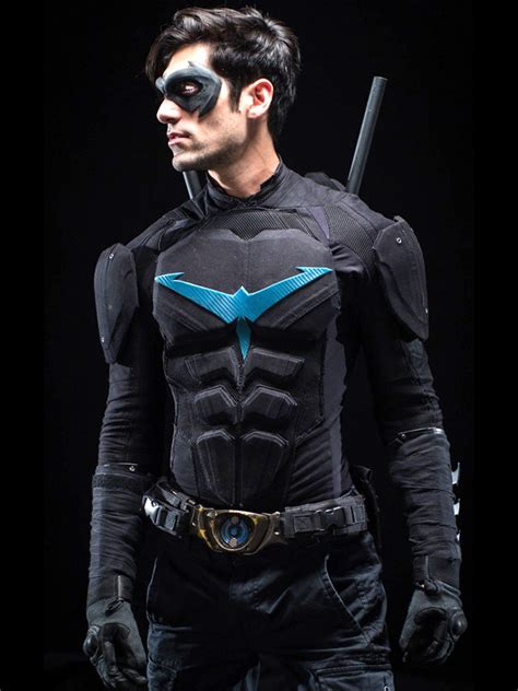 nightwing hairstyle danny shepherd nightwing the witcher 3 jacket instylejackets