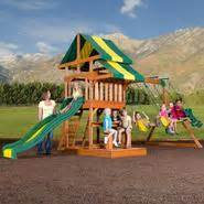 swing sets outdoor playsets and accessories kmart