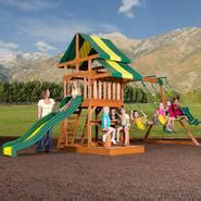 Backyard Discovery Independence Swing Set by Swing Sets Outdoor Playsets And Accessories Kmart