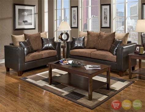 Excellent Brown Living Room Furniture For Home Wall Brown Sofa Decorating Living Room Ideas