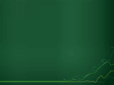 chart graphic wave green ppt backgrounds chart graphic