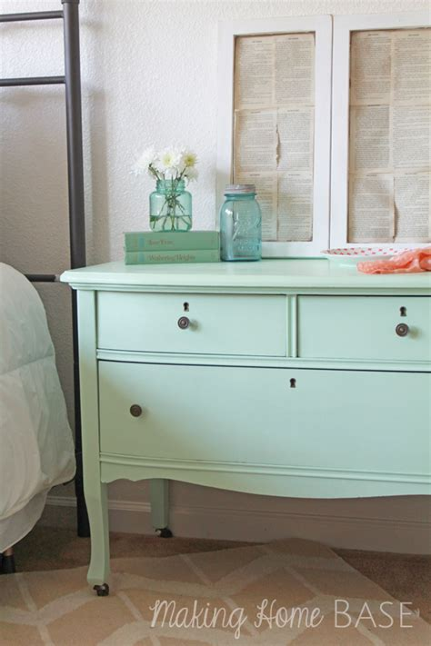 mint color dresser tuesday s treasures 143 my uncommon slice of suburbia