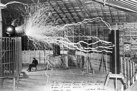 Tesla Deathray Nikola Tesla And The Craze Jstor Daily