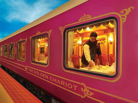 india luxury train golden chariot train an opulent mode of luxury travel in