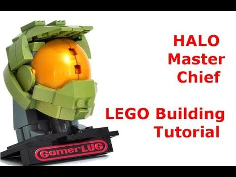 lego halo tutorial lego halo master chief building tutorial youtube