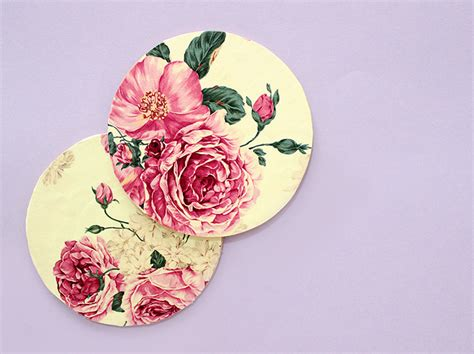 How To Make Decoupage Coasters - creative diy favors ideas the craftables