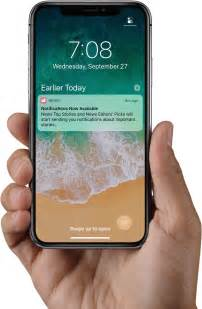 top right or right top iphone x tidbits lock screen shortcuts dock control