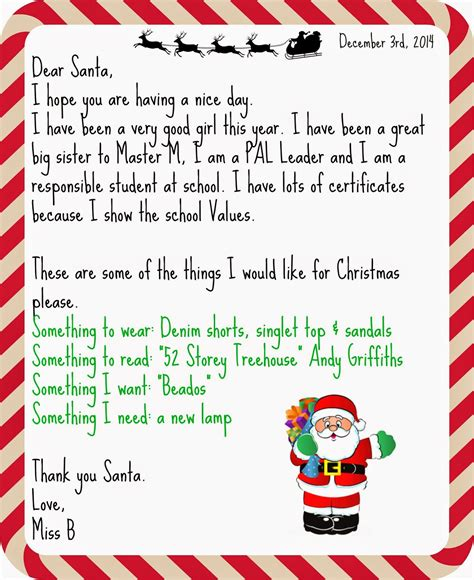 letter to santa template for teachers advent calendar day 3 write a letter to santa teacher