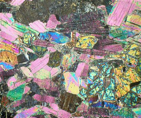 diopside in thin section diopside thin images frompo 1