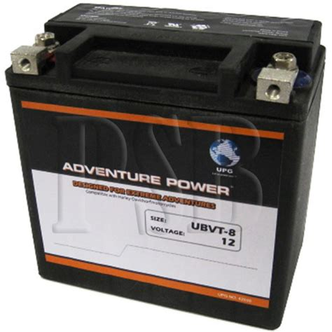 Harley Davidson Battery Replacement by Ubvt 8 Motorcycle Battery Replaces 65948 00 For Harley