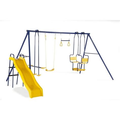 seesaw for swing set plum kids swing slide trapeze seesaw playground set buy