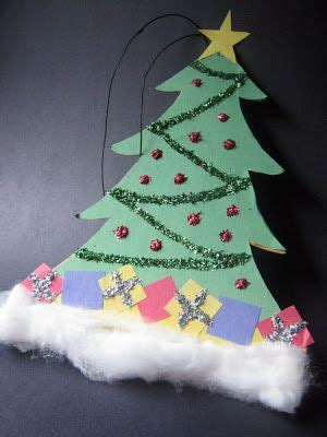 Christmas Tree Decorated With Paper Dolls » Home Design 2017