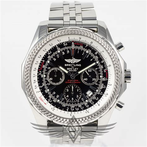 breitling for bentley motors 48mm stainless steel