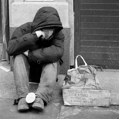 Should Food Be Left For The Homeless by Accommodation Shortage Leaves Out On The