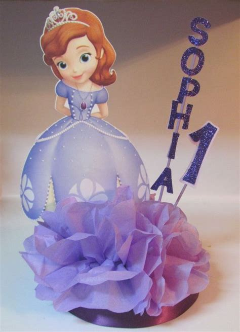 centerpieces for sofia the sofia centerpiece princess birthday