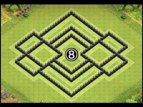 ultimate th8 layout best clash of clans th8 farming base quot the ultimate quot town