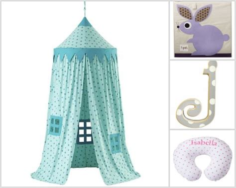 Polka Gamis Combine nursery decorating idea with polka dots