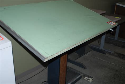Used Drafting Tables Hopper S Drafting Furniture Electric Drafting Table
