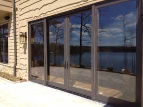 large 96 x109 quot sliding glass doors with retractable