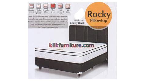 Rocky Pillowtop Set 200x200cm Gajah Springbed rocky pillowtop gajah springbed sale 51