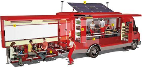 camion cuisine mobile le food truck s invite dans les op 233 rations marketing