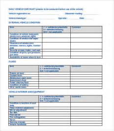 vehicle checklist template word 12 vehicle checklist templates in word free premium templates