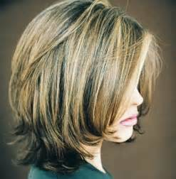 hair cut medium length front at the back stacked medium length haircuts