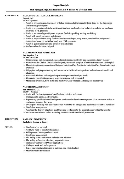 nutritionist resume sle best s for nutritionist degree nutrition ftempo