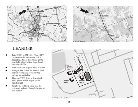 printable local maps abua map to leander hs