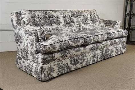 black and white sofas for sale black and white toile sofa for sale at 1stdibs