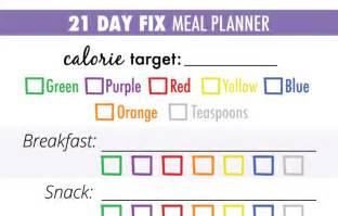 21 day fix meal plan chart elhouz