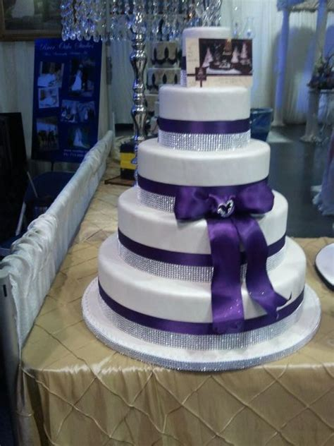 purple wedding cakes weneedfun