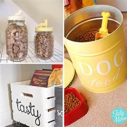 Dog Food Storage Ideas 28 Creative Dog Food Storage Ideas Two Little Cavaliers