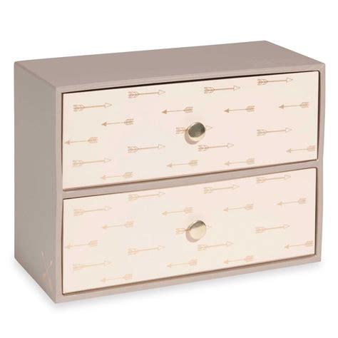 Printed Storage Box arrow printed 2 drawer storage box mysmallspace