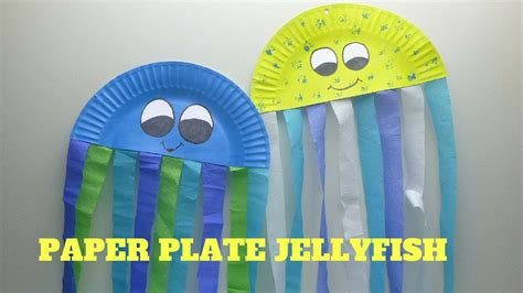 How To Make A Paper Jellyfish - how to make a paper plate jellyfish