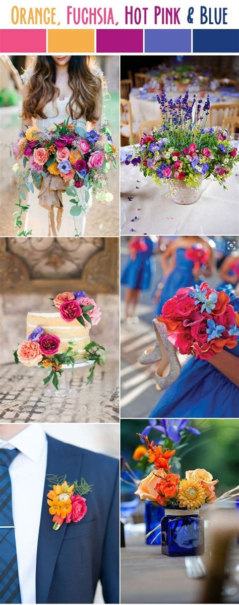color schemes for weddings 10 best wedding color palettes for summer 2017