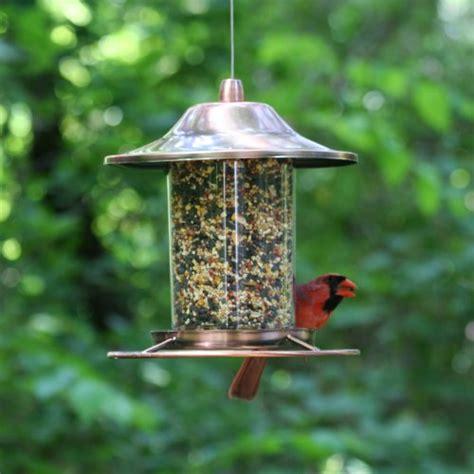 Circular Bird Feeder Pet Bird Feeder Garden Fowl Seed Food Dispenser