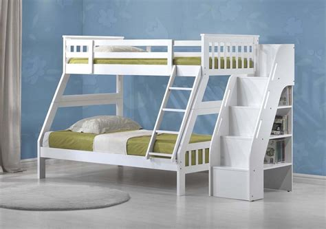 white bunk beds twin over twin elegant white twin over full bunk bed mygreenatl bunk